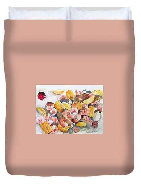 Fresh Boiled Duvet Cover