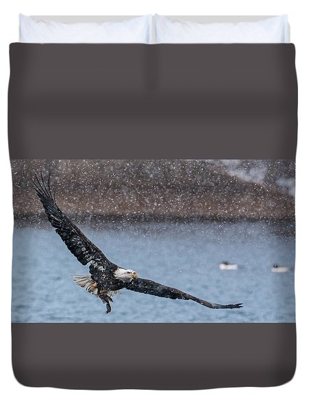 Duvet Cover featuring the photograph Fresh Catch by Kelly Marquardt