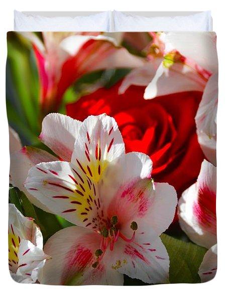 Fresh Flowers Duvet Cover