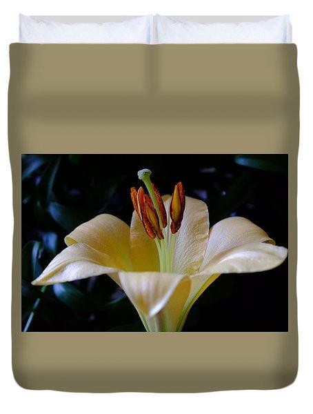 Gilded Lily Duvet Cover