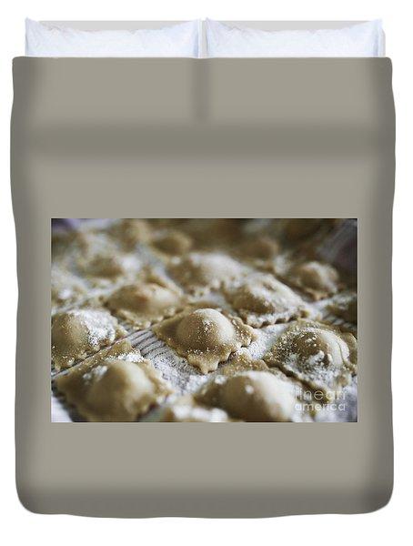 Fresh Homemade Italian Pasta  Duvet Cover