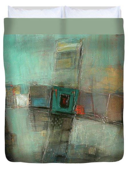 Fresh Pattern Duvet Cover by Behzad Sohrabi