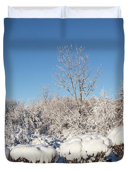Fresh Snowfall Duvet Cover
