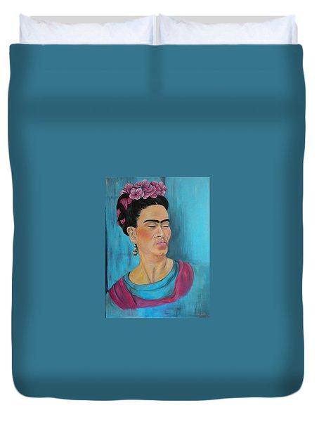 Frida Duvet Cover by Jenny Pickens