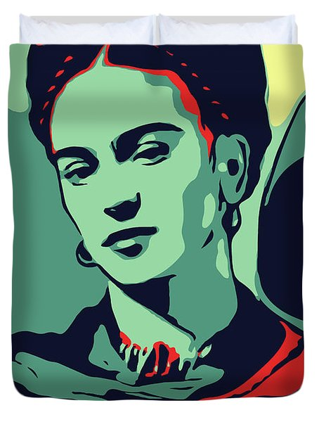 Frida Kahlo Duvet Cover