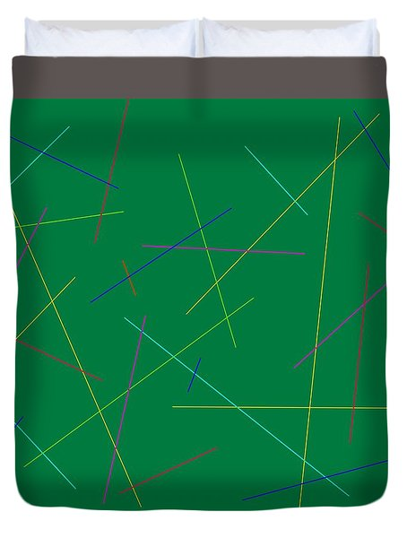 Friday At Ten Duvet Cover by Jeff Gater