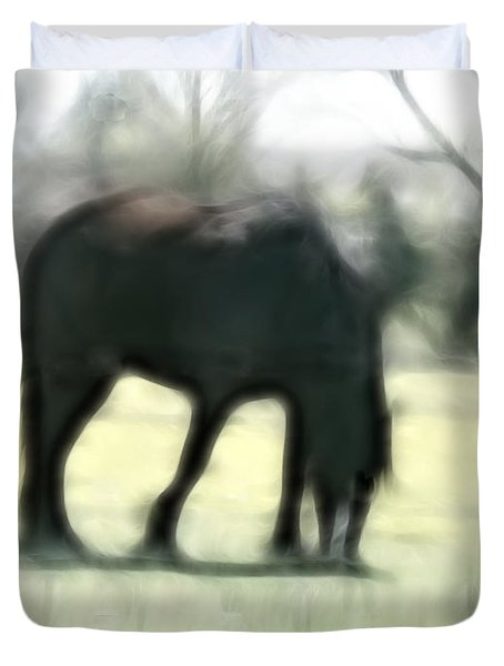 Friend Of Distinction  Duvet Cover by EricaMaxine  Price