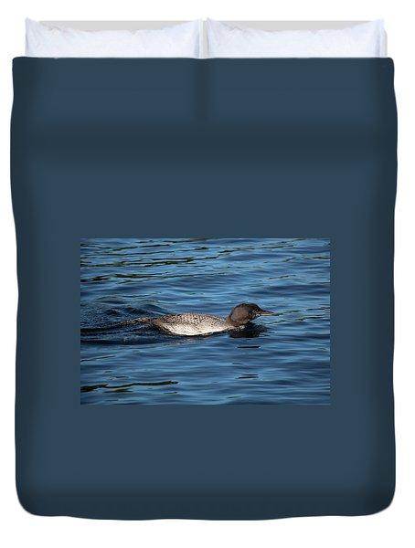 Friend Of The Lake. Duvet Cover