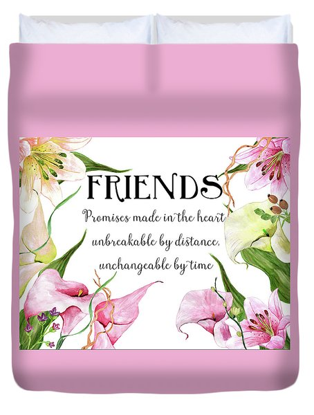 Friends Duvet Cover