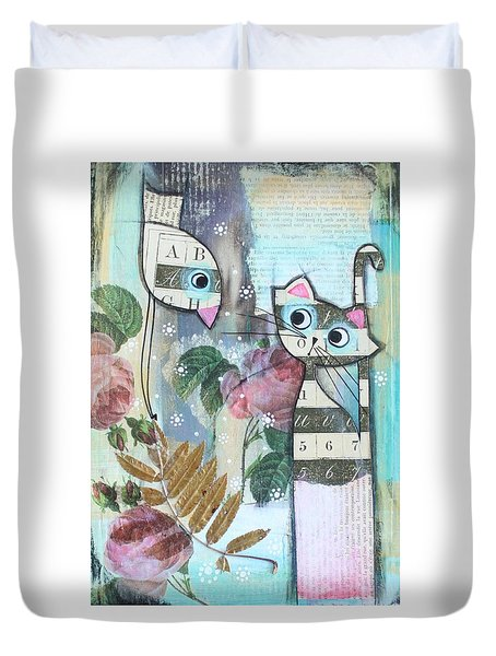 Friends Duvet Cover by Johanna Virtanen
