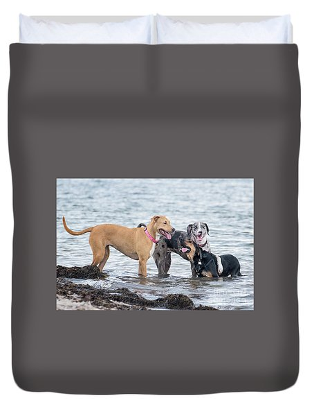 Friends Duvet Cover by Stephanie Hayes