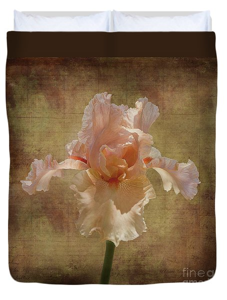 Frilly Iris Duvet Cover