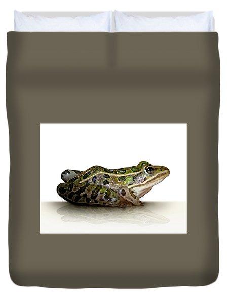 Frog Duvet Cover by James Larkin