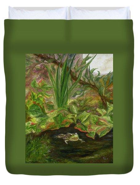 Frog Medicine Duvet Cover