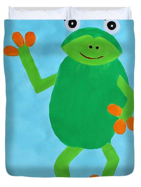 Froggie Duvet Cover
