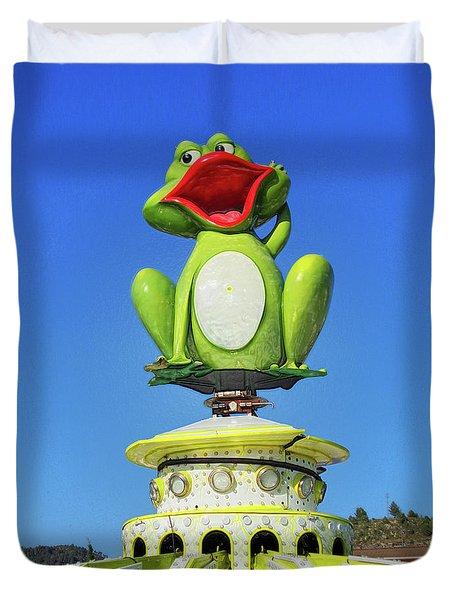 Froggy Duvet Cover