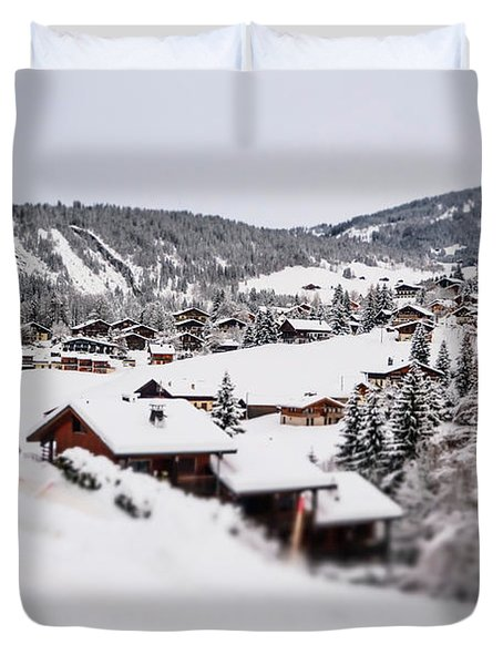 From A Distance- Duvet Cover