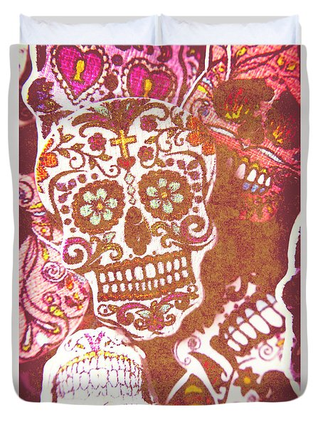 From A Tribal Design Duvet Cover