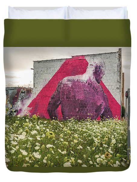From Ashes We Rise  Duvet Cover