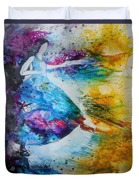 From Captivity To Creativity Duvet Cover