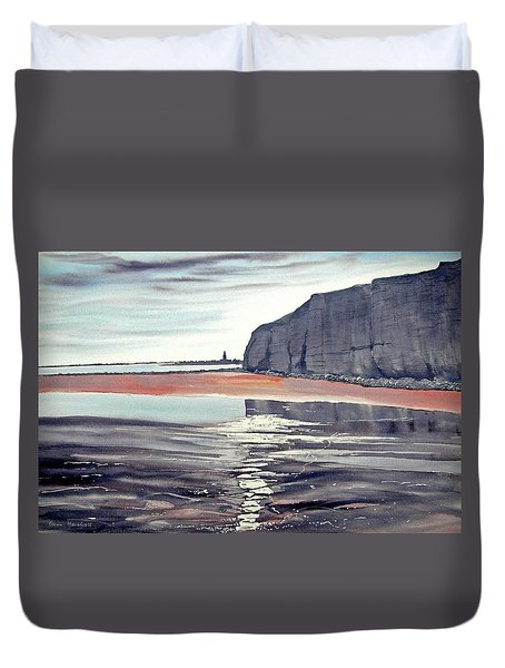 From Dane's Dyke Towards Bridlington Duvet Cover