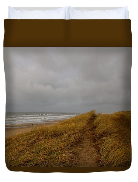 From Dunes To Sea Duvet Cover