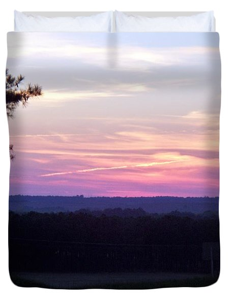 Duvet Cover featuring the photograph From Here To Eternity by Betty Northcutt
