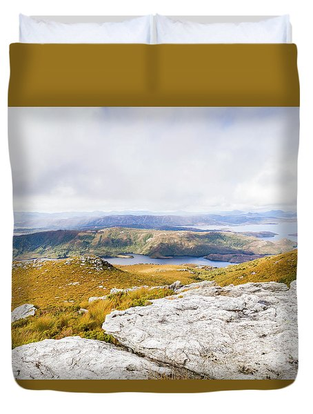 From Mountains To Lakes Duvet Cover