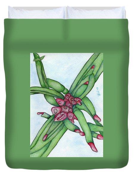 From My Garden 3 Duvet Cover by Versel Reid