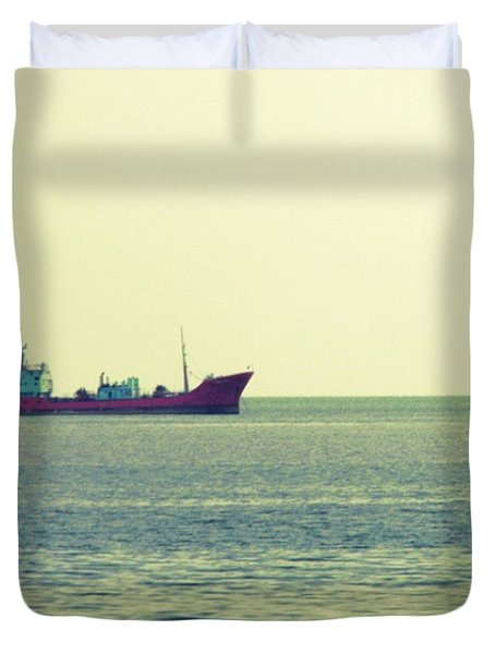 From My #photoarchive . #ship On The Duvet Cover