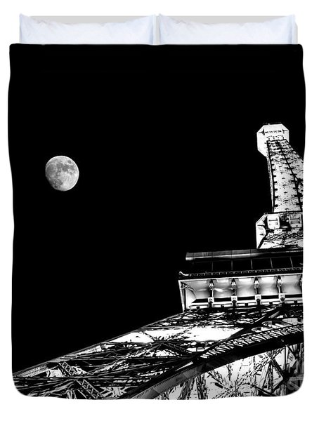 From Paris With Love Duvet Cover by Az Jackson