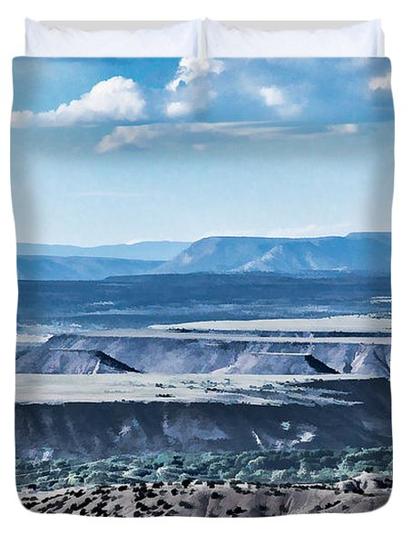 From Placitas Duvet Cover