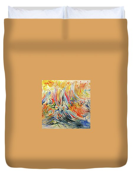 From Soul To Canvas Duvet Cover