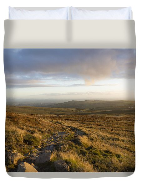 From The Black Mountain Duvet Cover