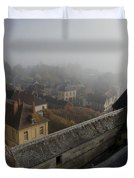 From The Castle Keep Duvet Cover by Hugh Smith