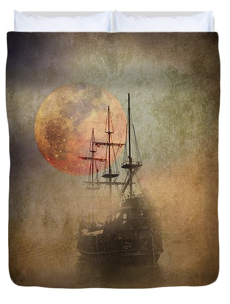 From The Darkness Duvet Cover by Barbara Dudzinska