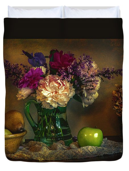 From The Garden To The Table Duvet Cover