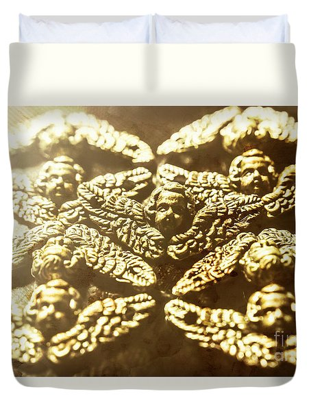 From The Golden Age Duvet Cover