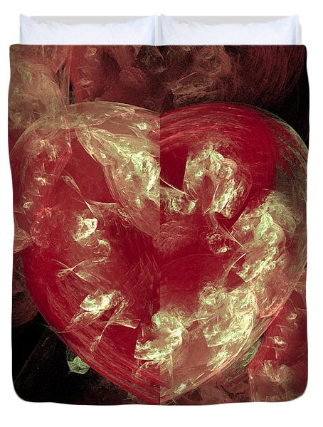 From The Heart Duvet Cover