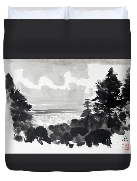 From The Hill Duvet Cover