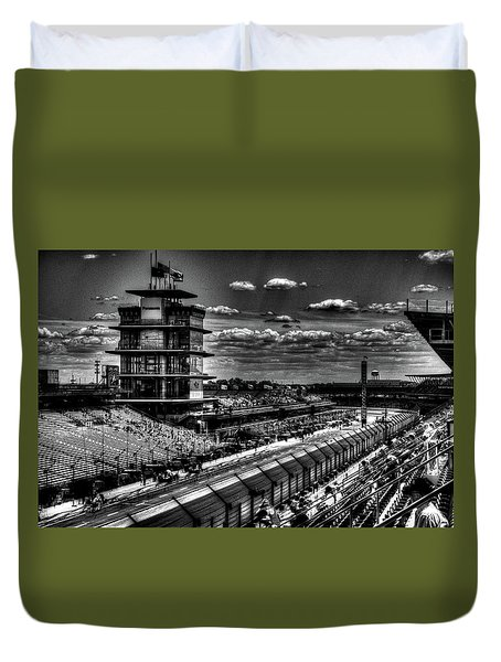 From The Hulman Suites  Duvet Cover