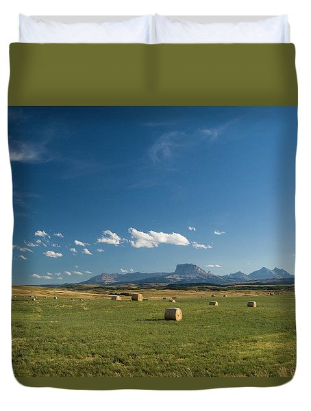 From The Prairie To The Rockies Duvet Cover