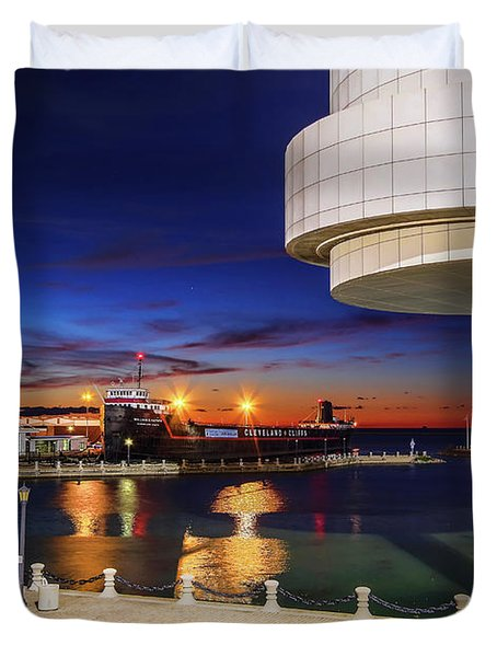 From The Rock Hall Duvet Cover