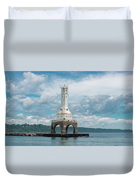 From The Sea Duvet Cover
