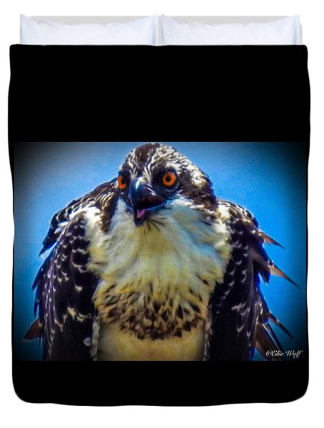 From The Series The Osprey Number 3 Duvet Cover