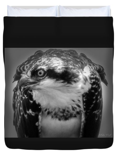 From The Series The Osprey Number Two Duvet Cover