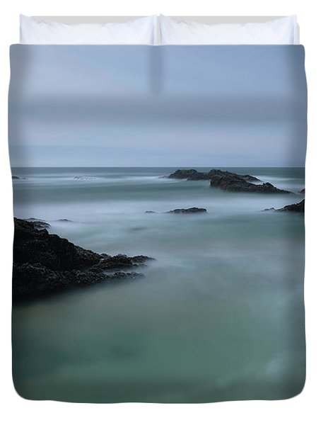 From The Top Of A Rock Duvet Cover