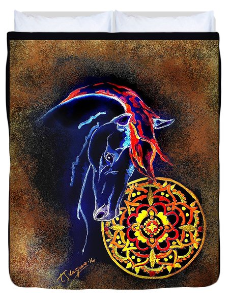 Fron The Orient Duvet Cover
