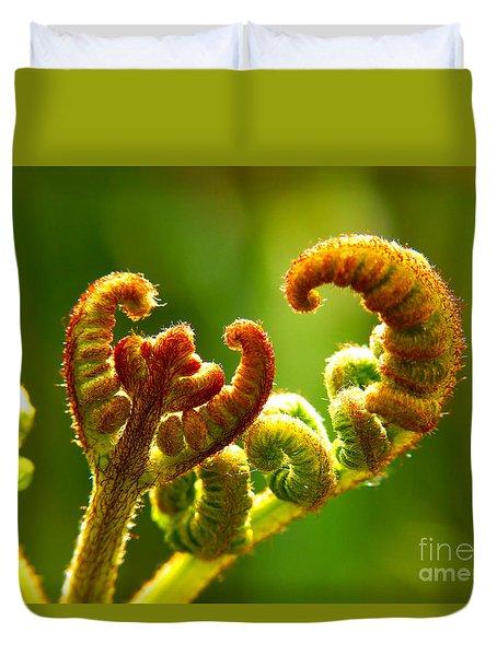 Frond Fern Duvet Cover