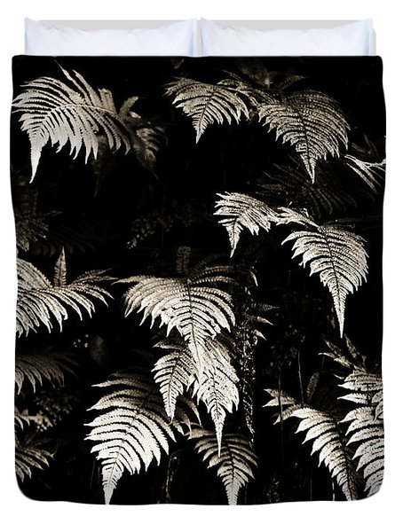 Fronds Duvet Cover by Marilyn Hunt